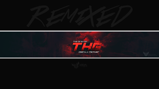 Thg Deathly Banner. RMX by Remix3d