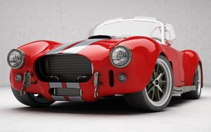 Shelby Cobra by 3D-Brainx