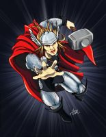 Thor Odinson by HeonGaiden