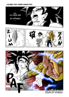 dragon ball ex pagina 137 color avance by YOSHIONANDAYAPA