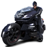 Jin Kazama Motorcycle ENIGMA Type 5843 by Blood-Huntress