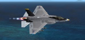 F-35C Jolly Rogers 1 by agnott