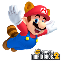 New Super Mario Bros. 2: Raccoon Mario by Legend-tony980