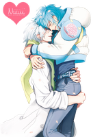 Render #105 - Clear x Aoba (DMMd) by Nuuii