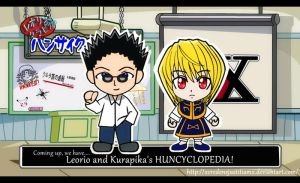 Leorio and Kurapika's Huncyclopedia!! by xcredensjustitiamx
