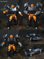 Custom Big Daddy Transformers Figure by Jin-Saotome