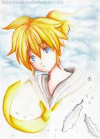 -- Playing with colors: Len -- by Kurama-chan
