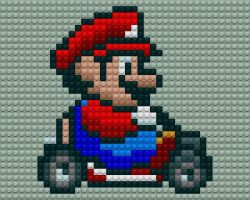 Mario Kart Lego by drsparc