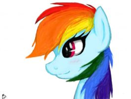 Rainbow Dash by NinjaCatArtist17