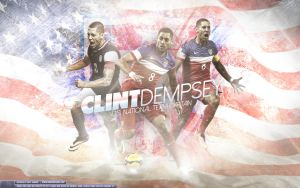 Clint Dempsey by Sanoinoi