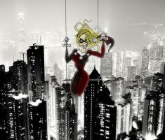 What if Harley ruled Gotham ? by Ericmaniac