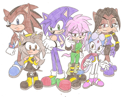 Next-Generation of Team Sonic by Sonicguru
