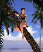lara of the caribbean 6 by 7ipper