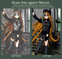 Meme: Before and After by krow000666