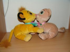 Best Friends - Simba Nala 1 by Toy-Ger