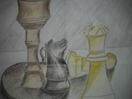 The Knight Protecting theQueen by Rockinangelz99