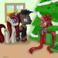 Christmas morning by FinnishGirl97