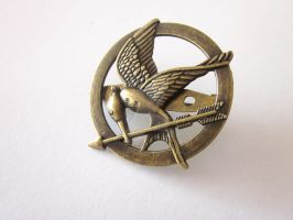 The Hunger Games Brooch by FantasyDesigns1