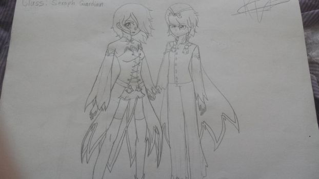Class: Seraph Guardian (I made these in class) by Princeasoflife