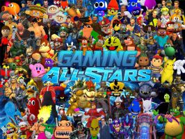 Gaming All-Stars Release! by SuperSmashBrosGmod