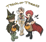 Trick or treat? by NicoleCover