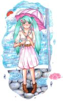 Melt in copic by turquoiseted