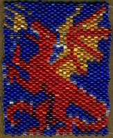 Bead Dragon by starglo21