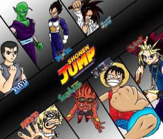 Shonen Jump by daeresha