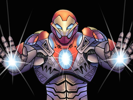 Ultimate Iron Man by THE-GREAT-ULTRON