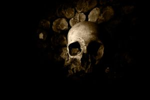 Paris Catacombs by Demyan
