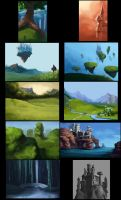 Environment Speedpaints #5 by Darantha