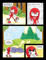 Knuckles in Oz by Lilnanny