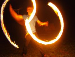 Fire Show 07 by K1ku-Stock