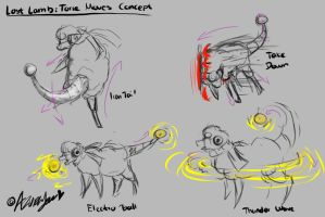 PMD Unity: Torie Move Concept by AzuraJae