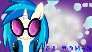 DJ PON-3 by CaptainRainbowz