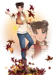 Commission for JuPMod - Autumn Tenten by Konsu4