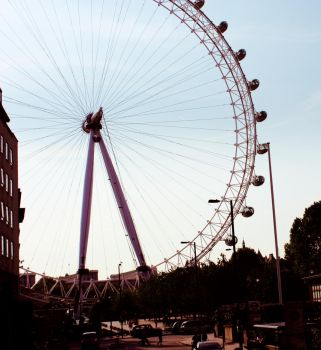 London Impressions.London Eye by Nadine-PotC
