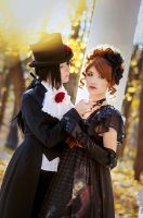 Aristocrat and Lolita Pride and Prejudice shoot by ann-emerald