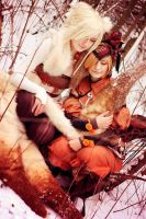 Vulpix and Ninetails Gijinka - Design by Cowslip by NikaCosplay