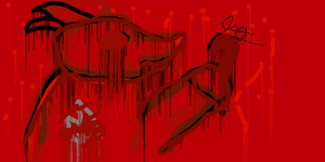 bloody foxy by 78crew