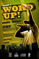 Word Up flyer by skam4
