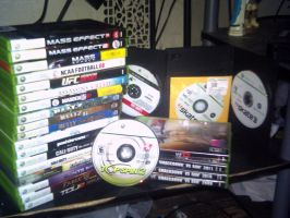 My Xbox 360 Collection... for now by neXXXusTheUber