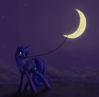Night walk by grayma1k