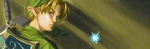 Link - OoT fan project banner by keiiii