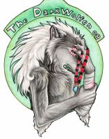 The darkwolfen badge by Lyanti