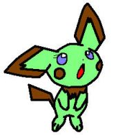 Mint the pichu by star-byte