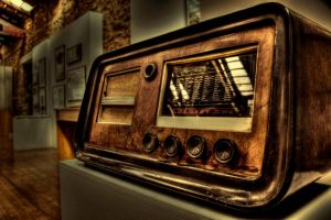 old radio by ChrisKora