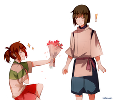 Spirited Away: For You! by batensan