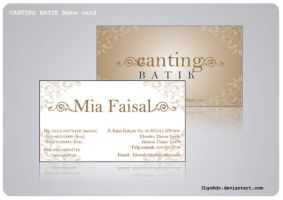 Canting Namecard by 3LgoRdo