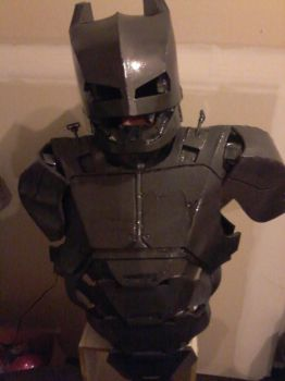 First coat of Paint of Batman Mech Suit by jronk13